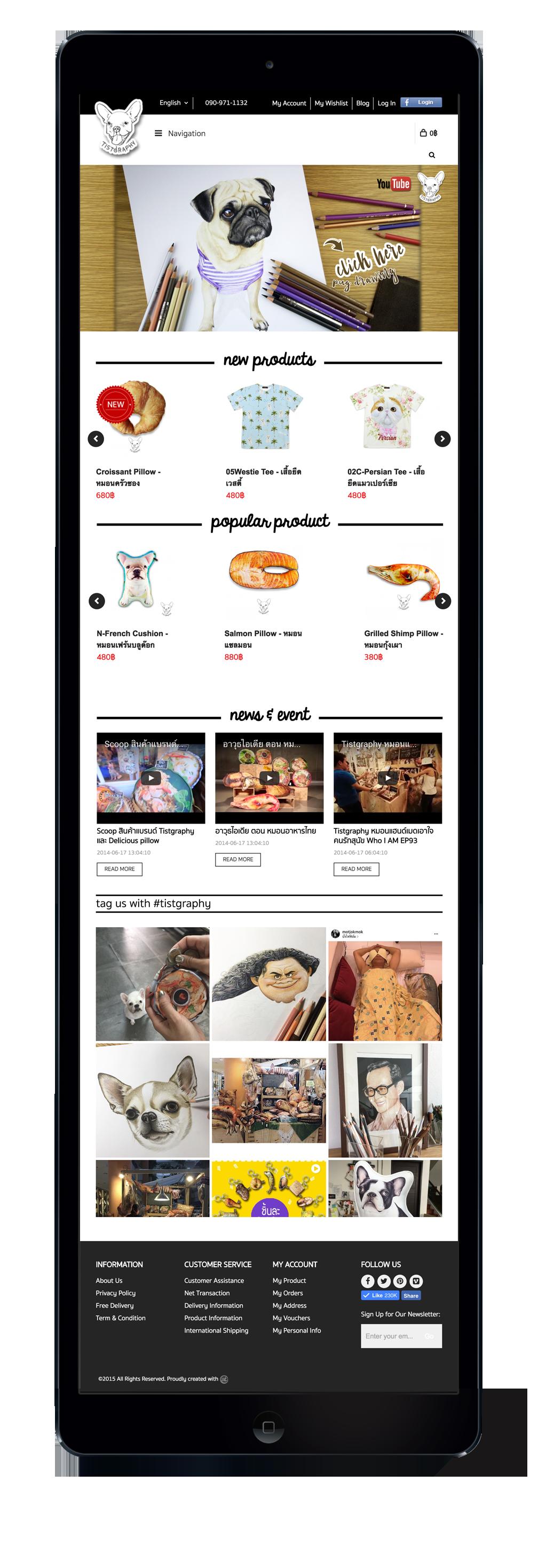 Tistgraphy-iPad