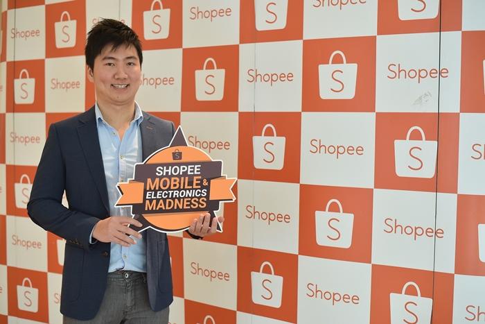 เทรนด์ m-Commerce กำลังมาแรง Shopee โตอย่างเร็วกว่า 5 ล้านดาวน์โหลด